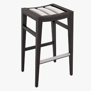 seven sedie osiride 3D
