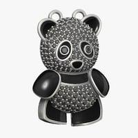 panda printing 3D model