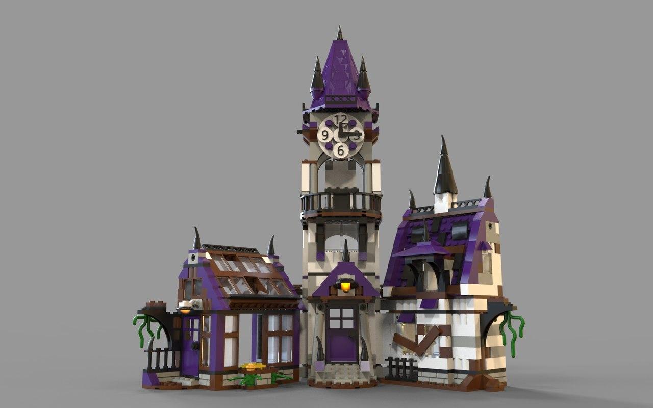 lego fantasy 3D model