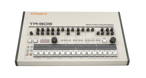 roland tr 909 3D model