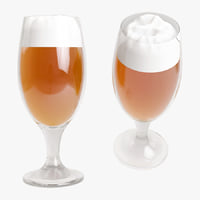 beer pint 3D model