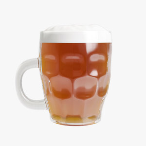 beer stein 3D model