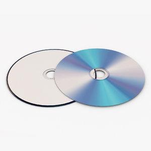 dvd disc 3D model