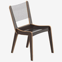 3D jacques guillion dining chair