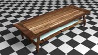 3D basic table
