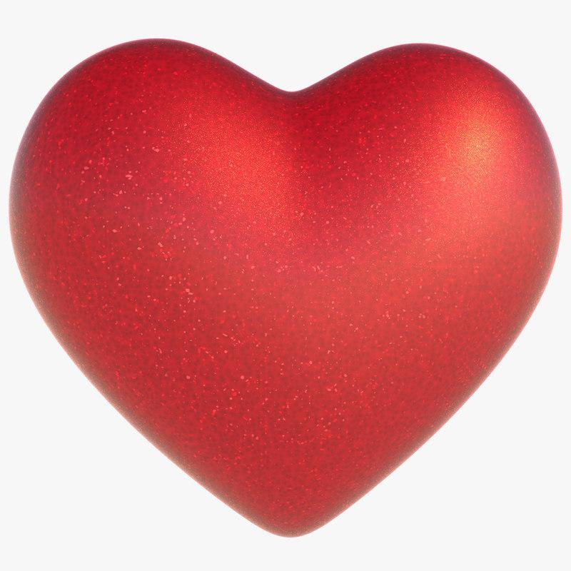 cartoon heart model