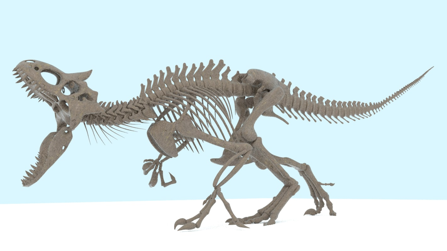 indominus rex skeleton model