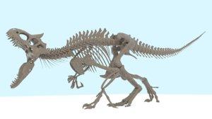 indominus rex skeleton model