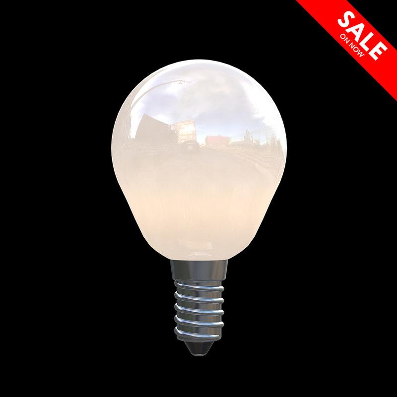 ligh bulb 3D model