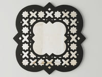 quatrefoil wall mirror 3D model