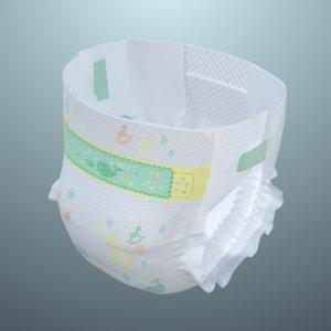3D model baby diaper