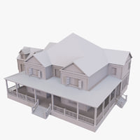 3D story house