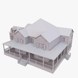 3D story house
