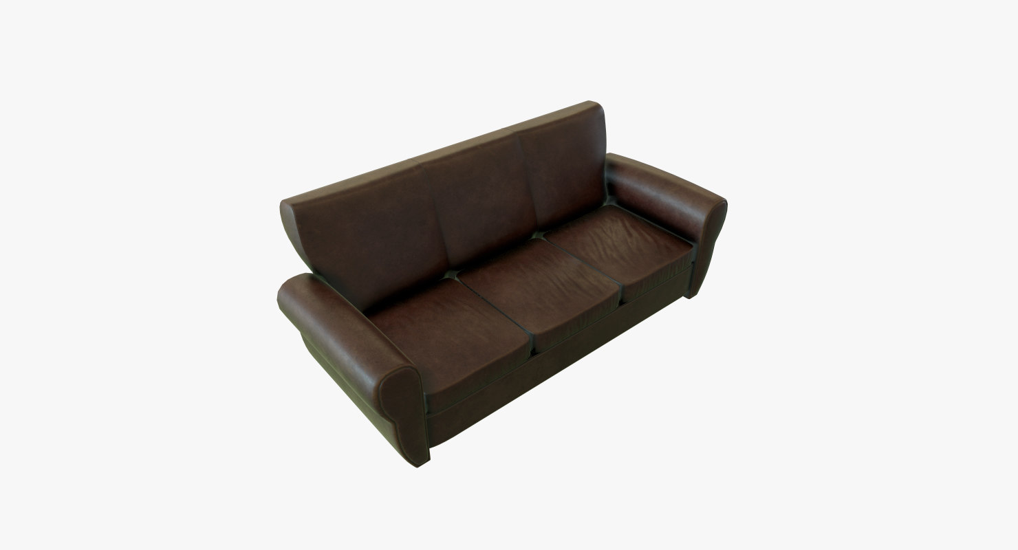 leather couch model