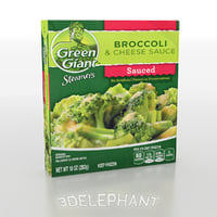 Frozen Food Packaging - Broccoli