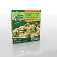 Frozen Food Packaging - Broccoli & Rice