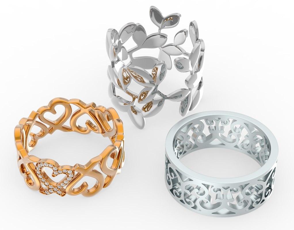 3 rings model