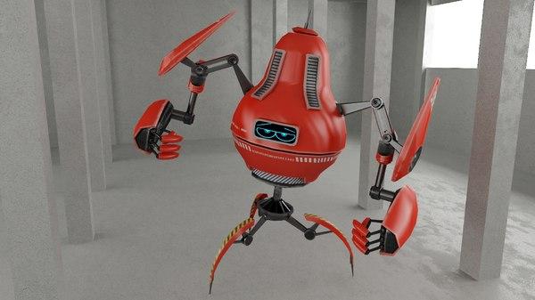 3D model robot pr7050
