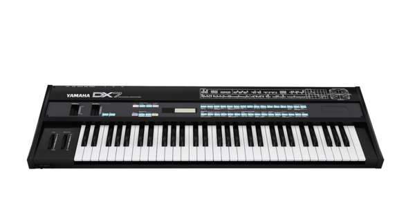 3D model synthesizer yamaha dx7