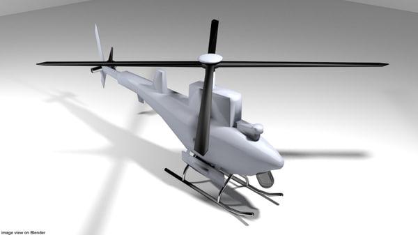 drone scout 3D model