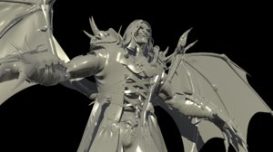 old vampire hi 3D model