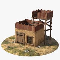 3D model house platform