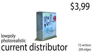 power distributor 3D model