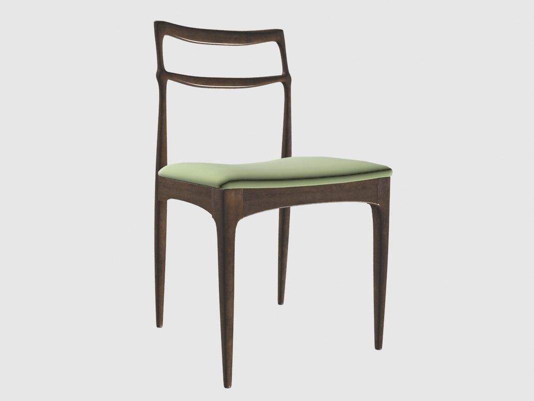 3D dinning chair christian lindeberg model