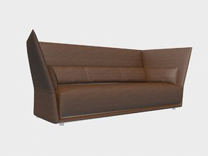 sofa almo poltrona frau 3D model