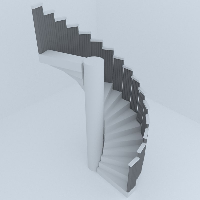 stairs architectural design model
