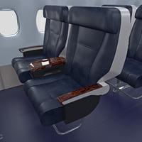 3D class passenger cabin