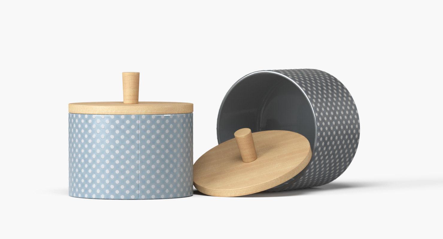 finnsdottir pipanella dotted jar 3D model