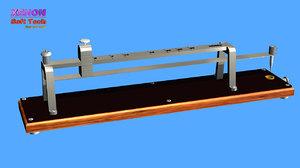 3D model vibrating reed