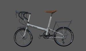 bike friday new world 3D model