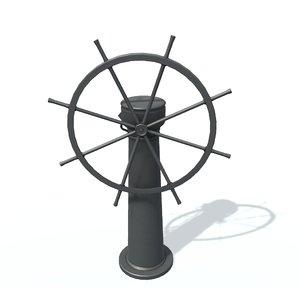3D steering wheel b