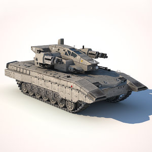 3D tank t400 model