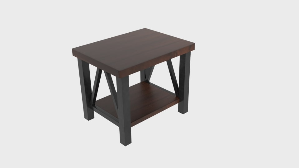 3D esmarina end table model