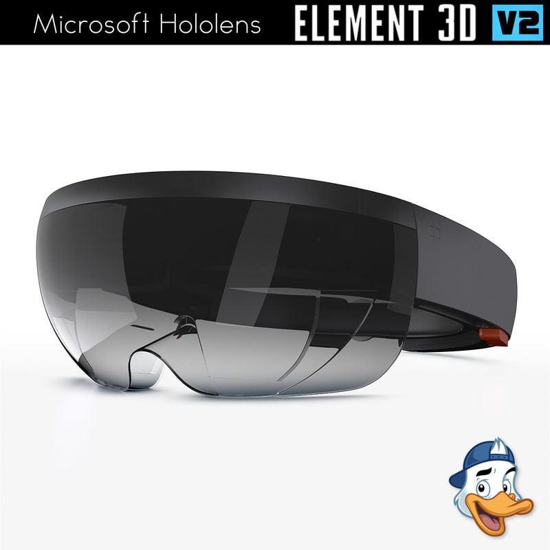 microsoft hololens element 3D model