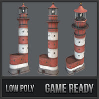 lighthouse pbr landmark lighting 3D