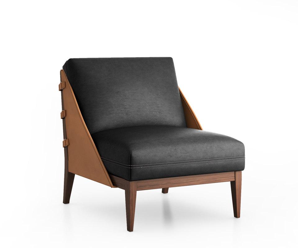 3D model barao chair