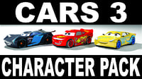 CARS 3 CHARACTER PACK
