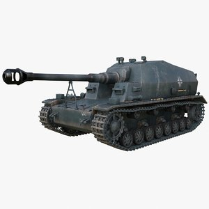 tank 10 5 cm 3D model