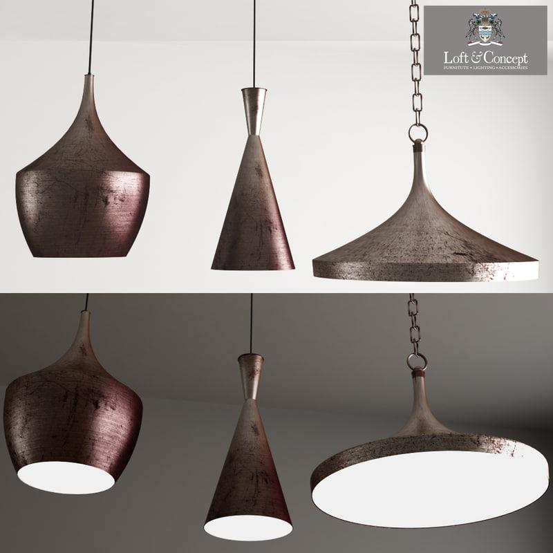Copper Pendant Lamp Beat
