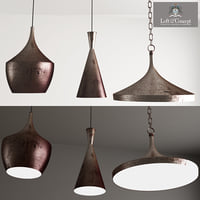 3D copper pendant lamp beat
