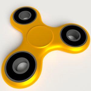 spinner fidget 3D