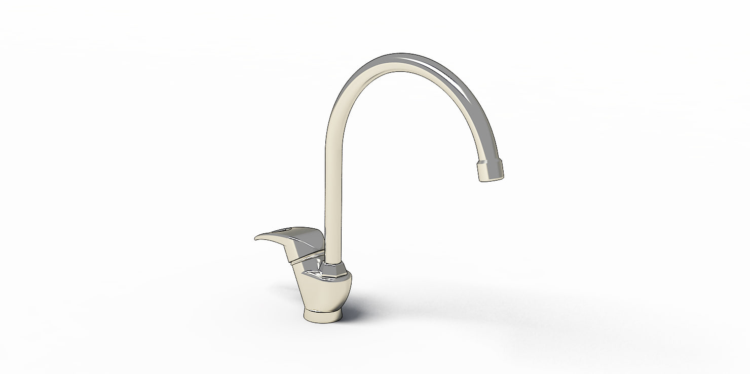 3D faucets dishwasher