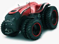 case ih autonomous 3D model