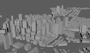 3D model boston