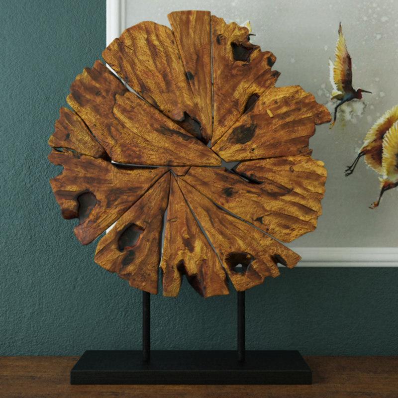 3D model chip wood decoration