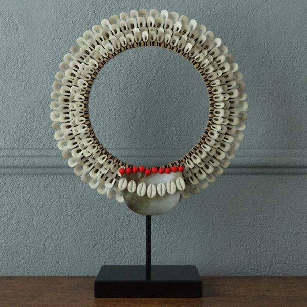 decorative tribal necklace zara 3D